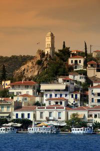 Poros Island Clock Tower