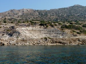 Knidos Amphitheatre from the Ancient Harbor www.njcharters.com