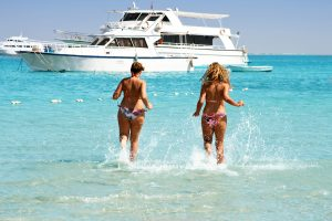 Bahamas, summer, luxury yacht charter, fun