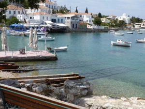 Greece Spetses Old Port www.njcharters.com
