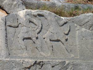 Demre Lycian Tomb Relief Carving www.njcharters.com