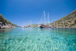 Gocek bigstockphoto_Boats_On_The_Mediterranean_Sea_1881132 www.njcharters.com