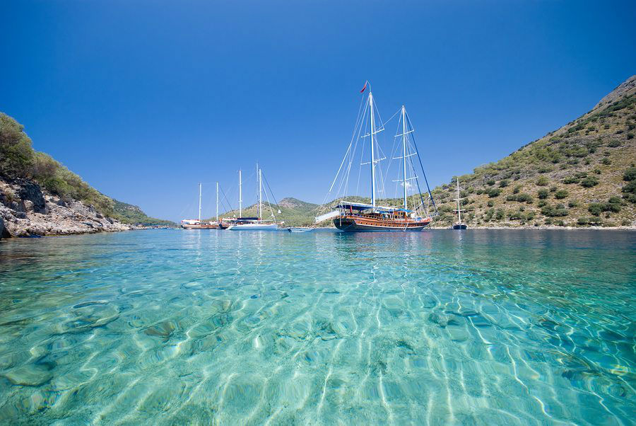 Gocek bigstockphoto_Boats_On_The_Mediterranean_Sea_1881132 www.njcharters.com