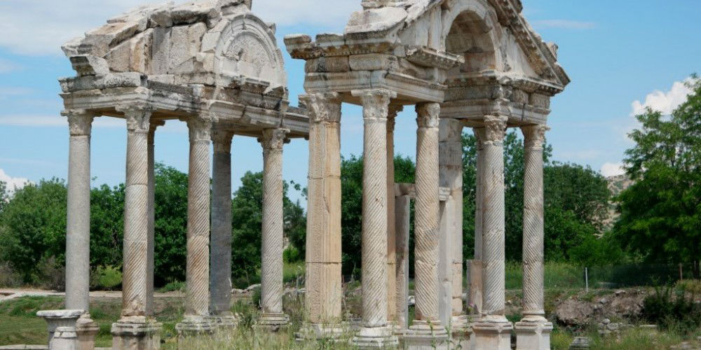 Explore Aphrodisias Temple Ruins in Turkey www.njcharters.com