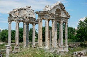 Explore Aphrodisias Temple Ruins in Turkey www.njcharters.com