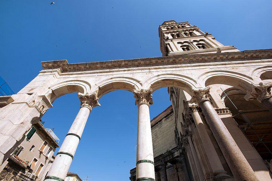 Explore Diocletian's Palace Ruins in Split, Croatia www.njcharters.com