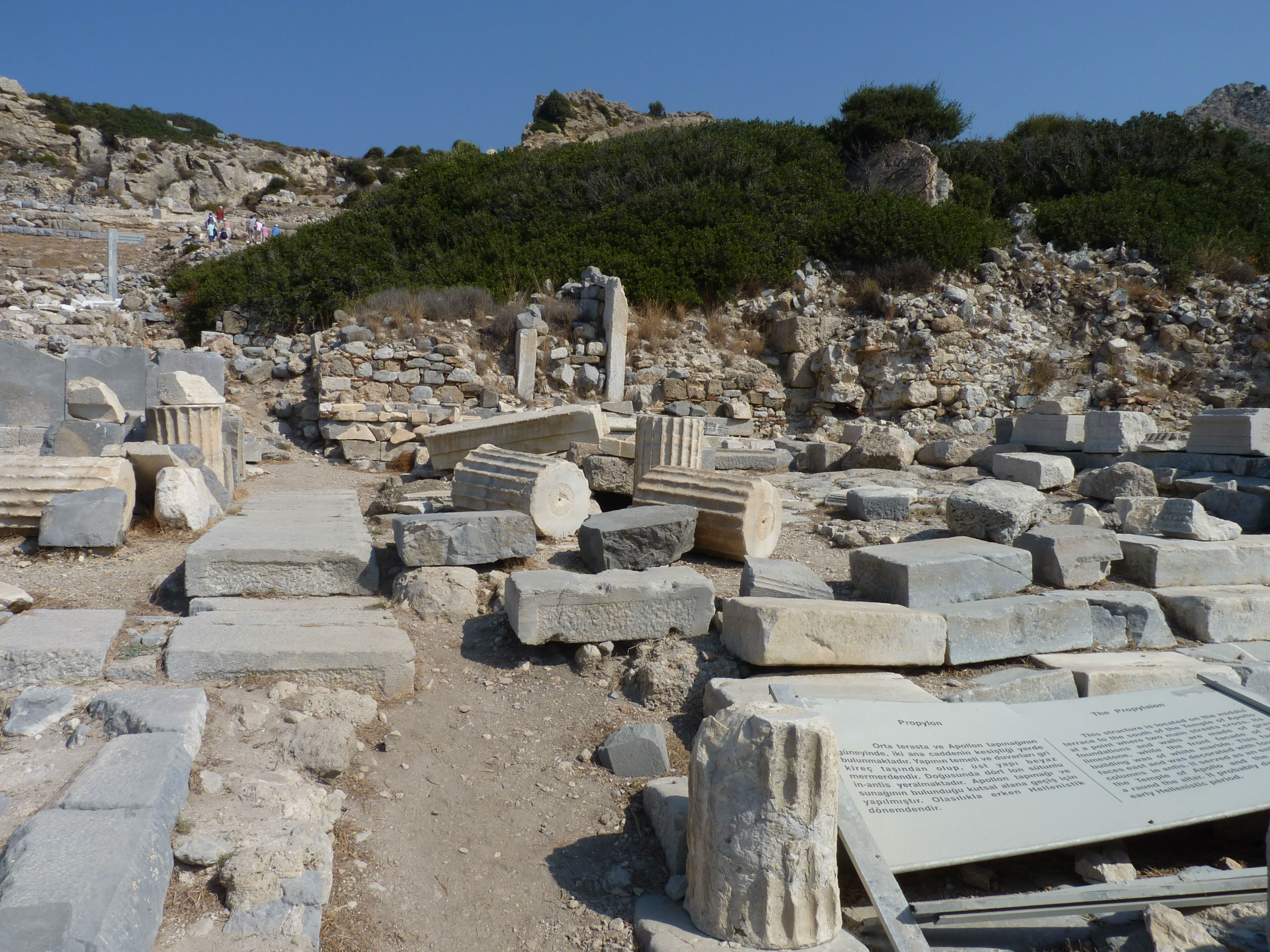 Explore the Ancient Site of Knidos in Turkey www.njcharters.com