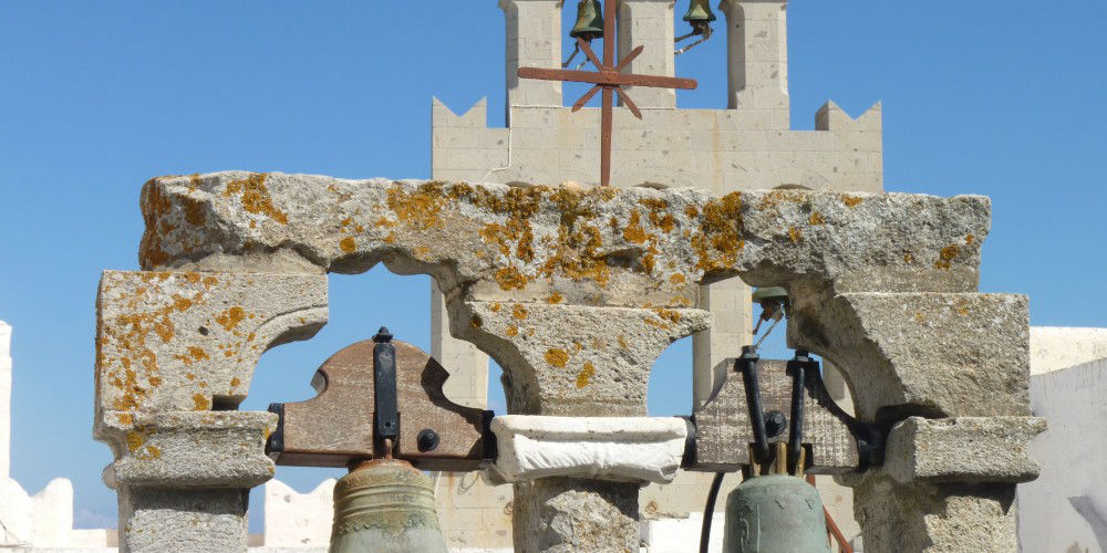Hear the Bells of the Monastery of St. John Ring in Patmos www.njcharters.com
