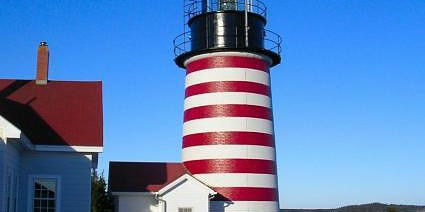 Navigate by Quoddy Light in Maine www.njcharters.com