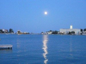 Greece Poros Island Moon www.njcharters.com