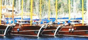 Marmaris, Turkey Gulet Fleet 1 www.njcharters
