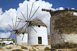 Old Greek Windmills  www.njcharters.com