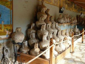 Bodrum , Turkey Ancient Amphoras from Ancient Shipwrecks www.njcharters.com