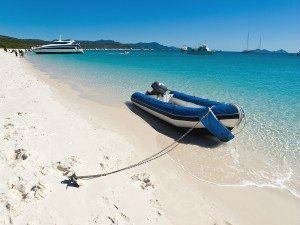 Tender On Whitehaven Whitsundays www.njcharters.com