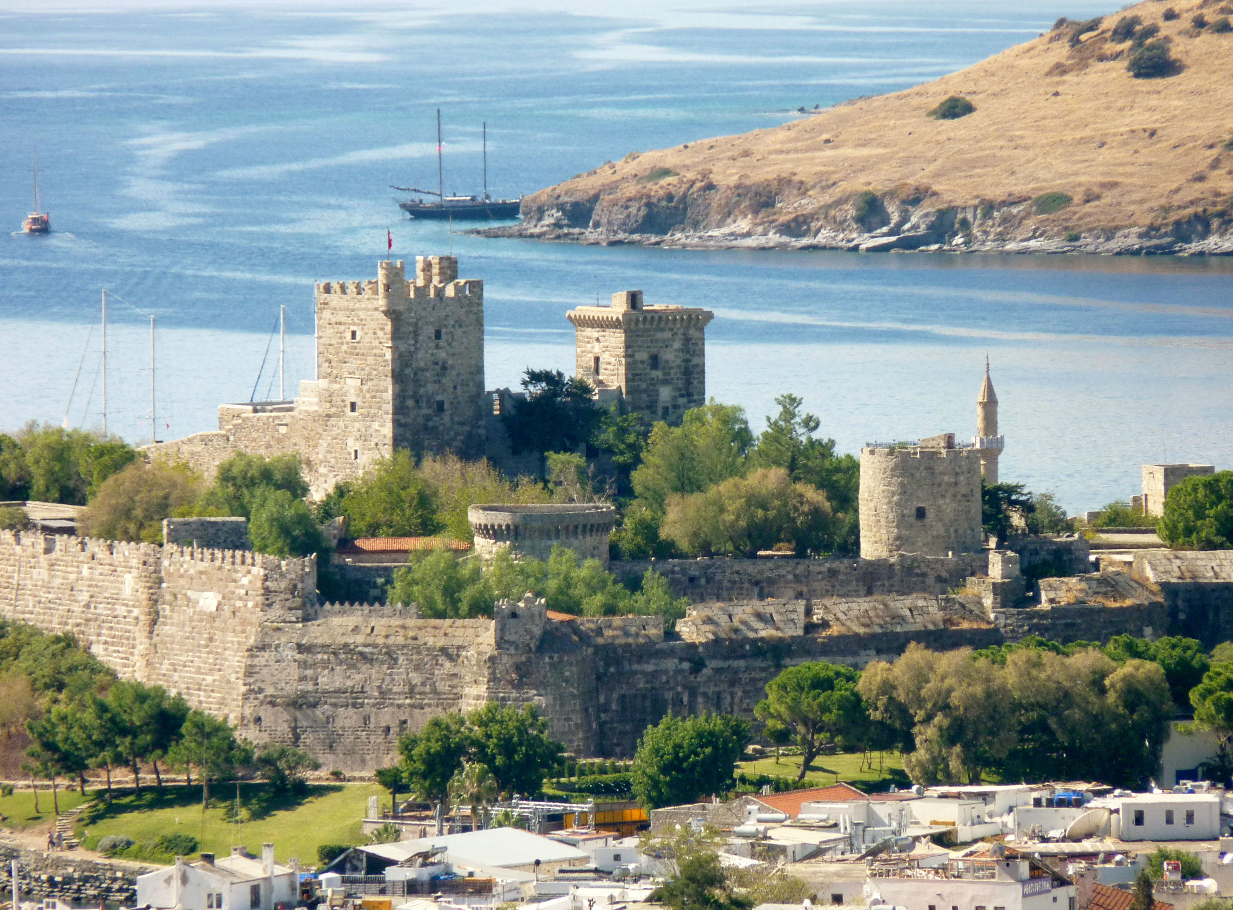Bodrum Castle from Hillsides