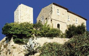 Chateau Grimaldi, Picasso Museum from the Sea www.njcharters.com