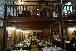 Croatia Mali Ston Boti Sare Restaurant Interior