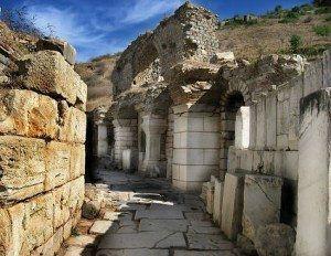 Excavated Streets of Ephesus www.njcharters.com