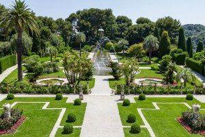 Gardens of Villa Ephrussi de Rothschild www.njcharters.com