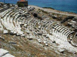 Knidos Amphitheatre (2) www.njcharters.com
