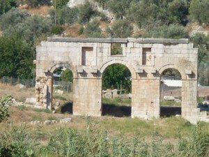 Patara Roman Gate Ruins