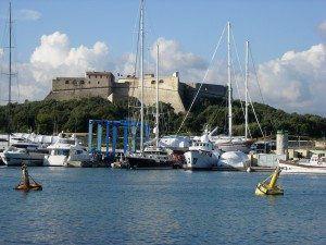 france Antibes Castle www.njcharters.com