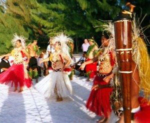 Bora Bora Traditional Dancing  www.njcharters.com