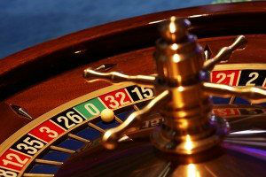 Moments in casino - details of gaming of roulette and poker