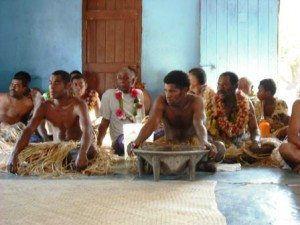 Fiji Malakati Village Nacula Island Sevusevu