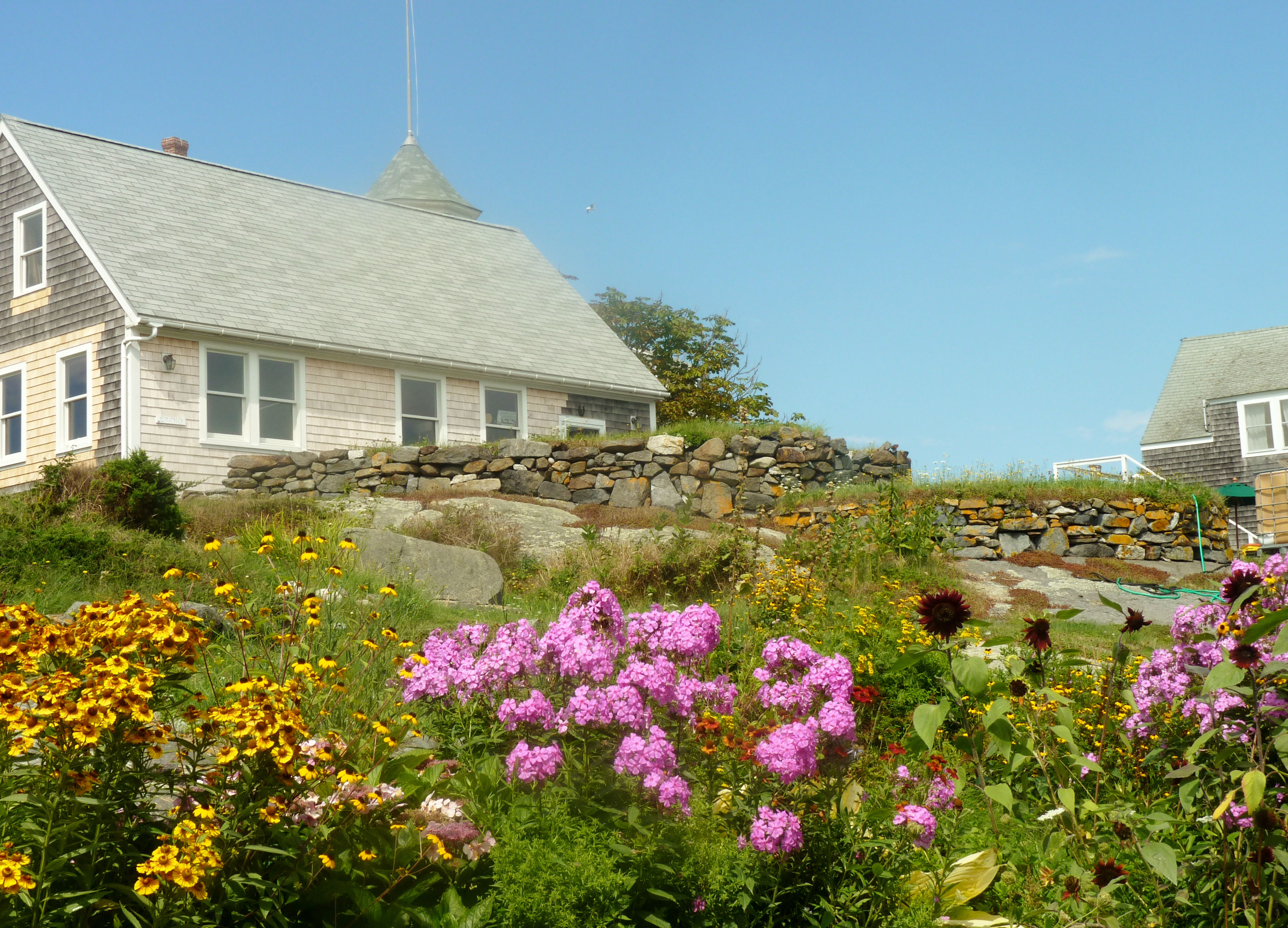 Monhegan Island Local Homes