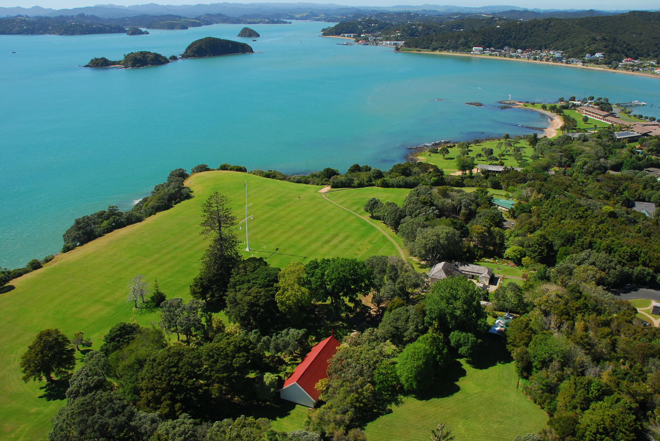 Waitangi Treaty Grounds, Bay of Islands, New Zealand www.njcharters.com