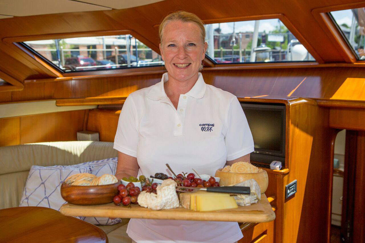 Crew Service on Luxury Yacht Charter www.njcharters.com