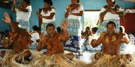 Fiji Malakati Village Nacula Island Meke Warriors  www.njcharters.com