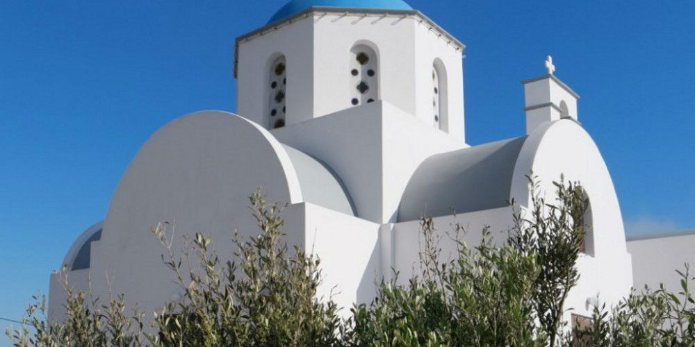 Greek Orthodox Church, Santorini Island, Greece www.njcharters.com