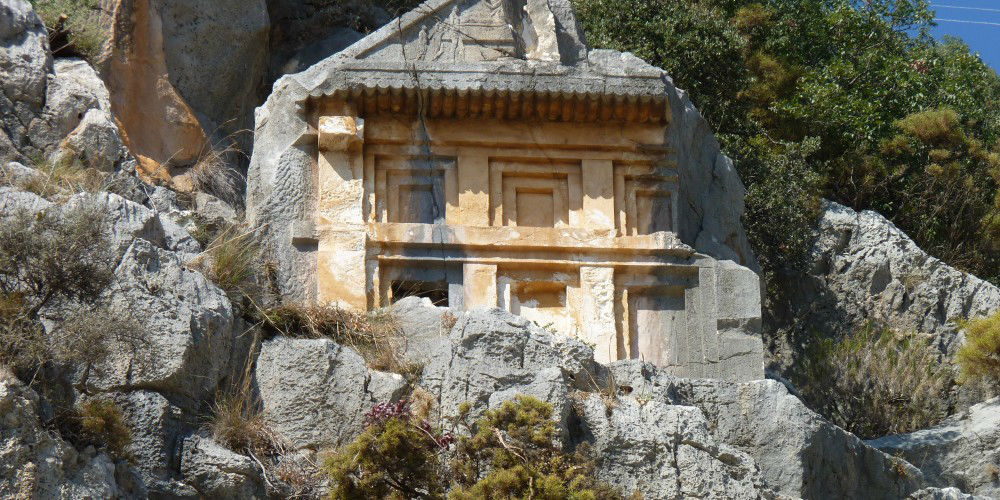Lycian Tombs, Demre, Turkey www.njcharters.com
