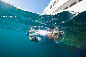 Snorkeling on Yacht Charter www.njcharters.com