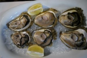 Croatia Mali Ston Bota Sare Restaurant Fresh Raw Oysters www.njcharters.com