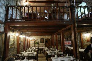 Croatia Mali Ston Boti Sare Restaurant Interior www.njcharters.com