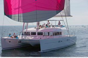 Catamaran London Sky for luxury yacht charter