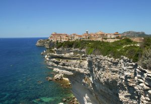 Bonifacio Walled City, France, Luxury Yacht Charter