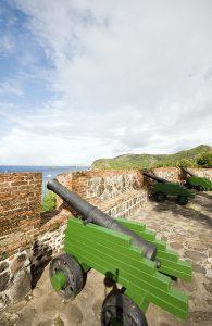 Fort Oranje Oranjestad Sint Eustatius, Caribbean, luxury yachts