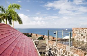 Fort Oranje, Sint Eustatius Island, Caribbean