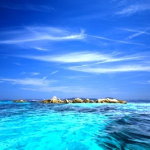 La Maddalena Island water colors