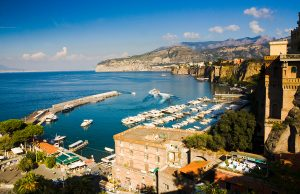 Naples harbor, Italy, Luxury yacht charter