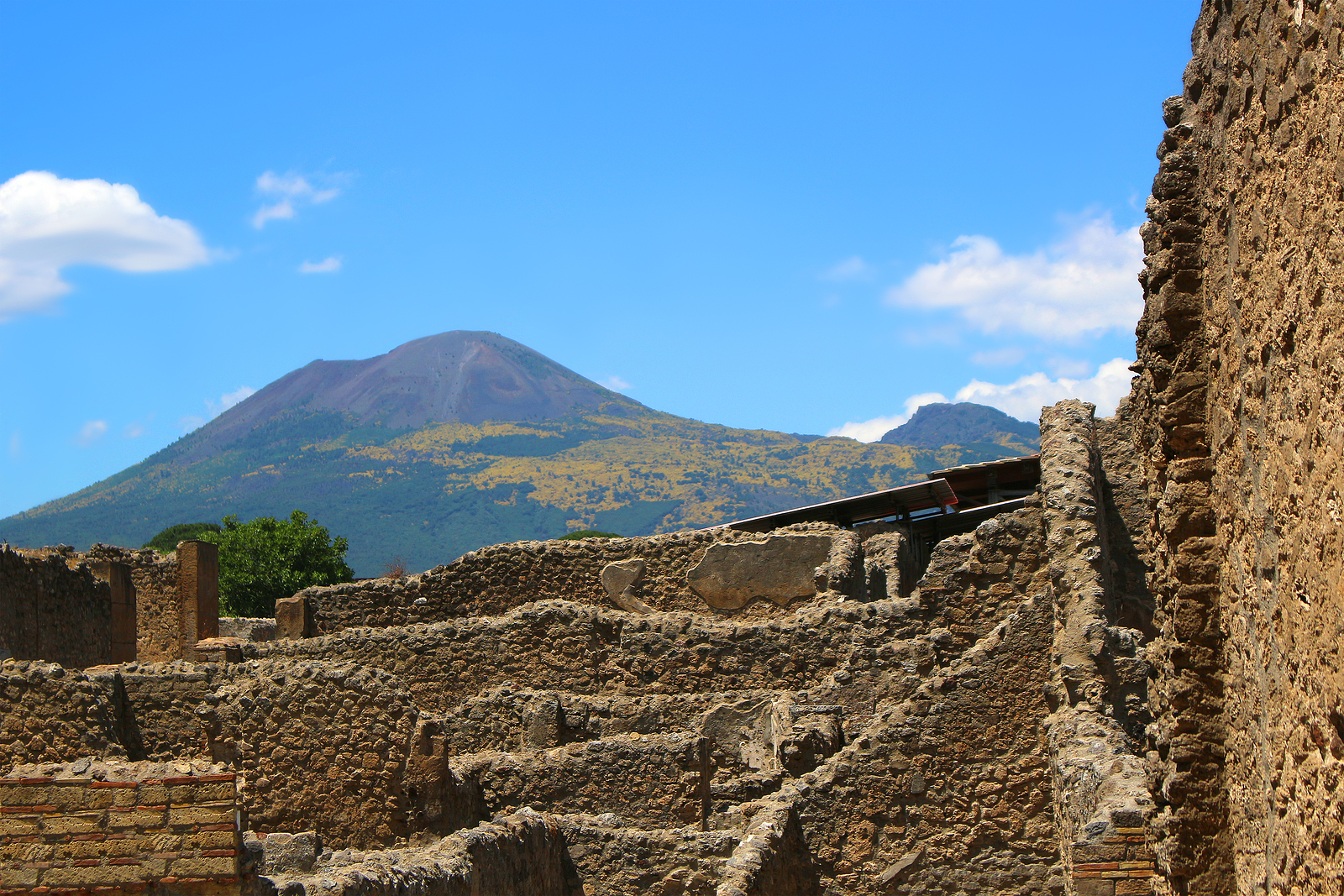 an overview of the pompeii mount vesuvius