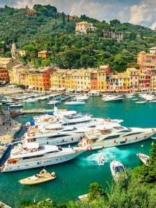 Portiofino, Italy, luxury yacht charter