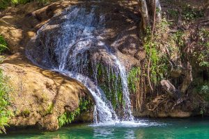 Small Waterfalls in Topes de Collantes Cuba