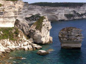 Corsica southern chalk cliffs www.njcharters.com