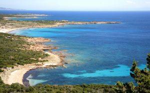 Corsica turquoise lagoons in Park Bonifacio www.njcharters.com