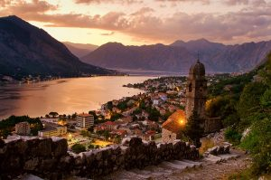 Kotor Old City at night www.njcharters.com